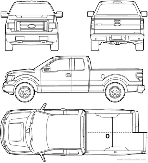 ford f 150 truck bed dimensions the blueprints com blueprints gt cars gt ford gt ford f 150