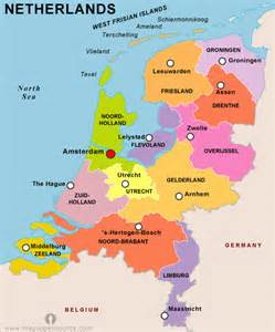 Holland World Map by Netherlands Map World Images