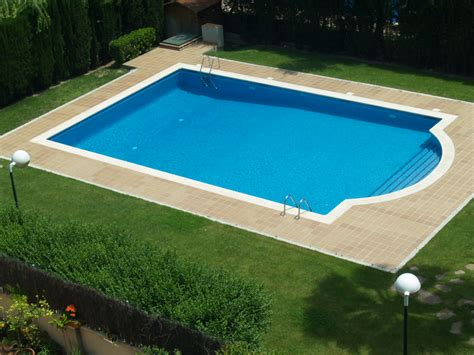 pictures of swimming pool swimming pool rectangular inground pool with small
