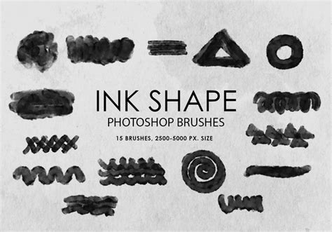add pattern to shape in photoshop free ink shape photoshop brushes free photoshop brushes