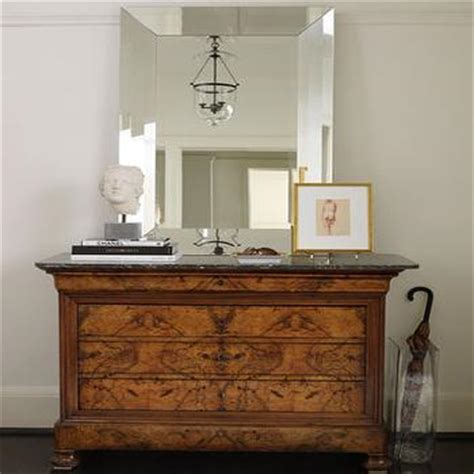 Dresser In Foyer ogee country distressed antique mirror dresser chest cottage entrance foyer