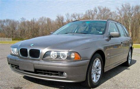 used bmw ta sell used 525i wagon bmw i6 03 ta moonroof leather in