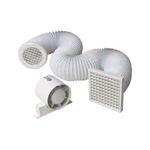 manrose in line shower fan kit extractor fan with timer