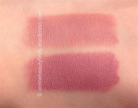 matte lip color swatches e l f matte lip color tea review