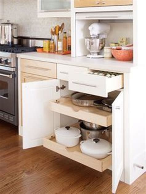 Sliding Drawers In Kitchen Cabinets by Innovative Sliding Cabinet Shelves To Save Your Kitchen