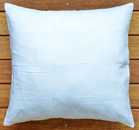 Bed Lounge Pillow Australia by Linen 18 Quot White Pillow Cushion Cover Throw