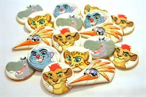 Casual Christmas Party Ideas - lion guard cookies cookie connection