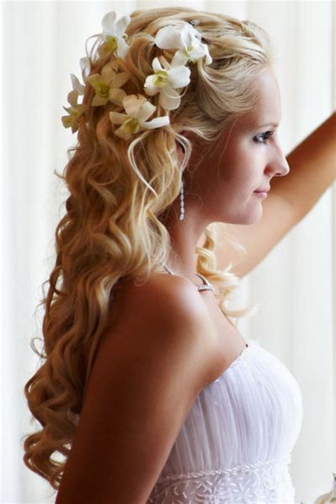half up half down asian hairstyles wedding hairstyles for long hair half up half down