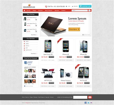 html ecommerce templates free free html website template e commerce html