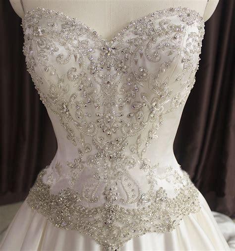 beaded corset aliexpress buy princess bling wedding