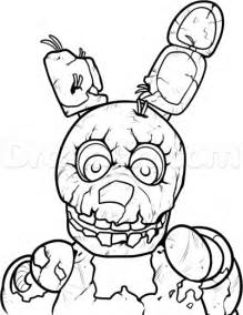 How to draw springtrap from five nights at freddys 3 step 11 1
