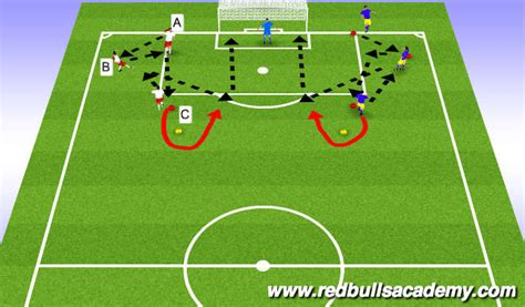 soccer interactive football soccer technical shooting u12 u23