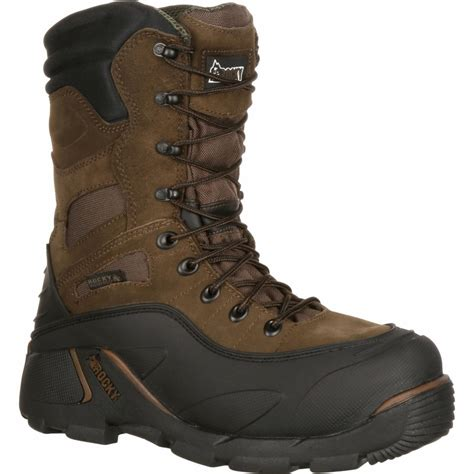 rocky boots 7465 blizzard stalker insulated steel toe boot