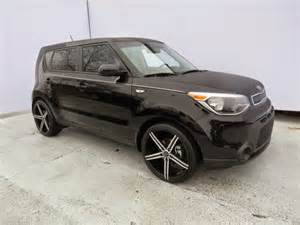 Kia Soul With Rims Shadow Black 2015 Kia Soul With 20 Inch Aftermarket