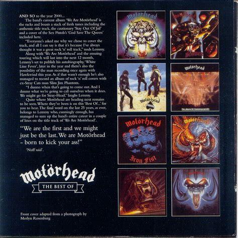 best motorhead album the best of motorhead 2cd mot 246 rhead mp3 buy