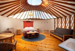 Yurt Photos Interior Reservations Treebones Resort