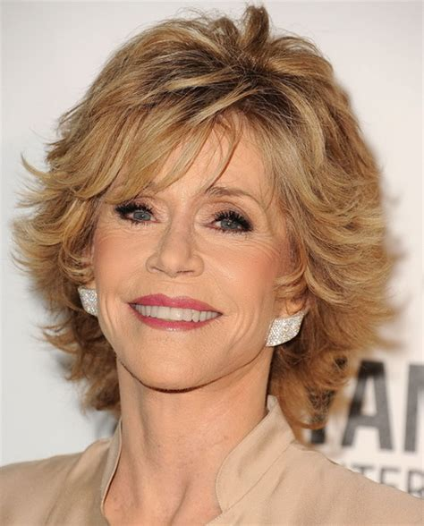 bing hairstyles for women over 60 jane fonda with shag haircut hairstyles jane fonda