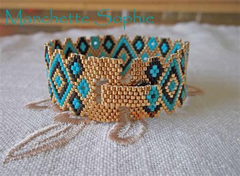 peyote bead bracelet manchette 5 miyoki peyote bracelet