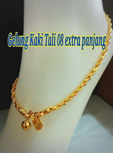 Sale Gelang Fashion Klabang gelang kaki emas korea 24k celup 2 t end 3 7 2017 2 15 pm