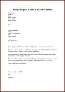 write request reference letter writing lab