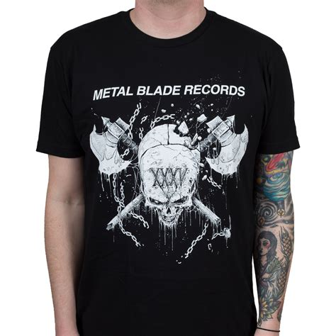 Metal Blade Records metal blade records quot 35th anniversary quot t shirt metal