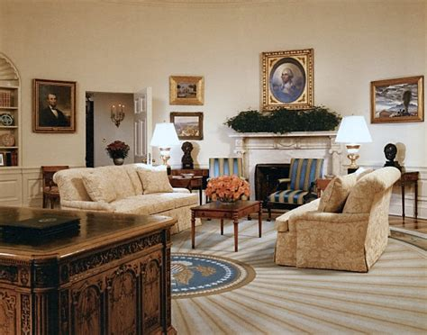 White House Furniture by Oval Office History White House Museum