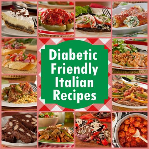 diabetic dish recipes 12 diabetic friendly italian recipes