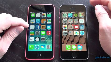 iphone 5c vs iphone 5s pocketnow
