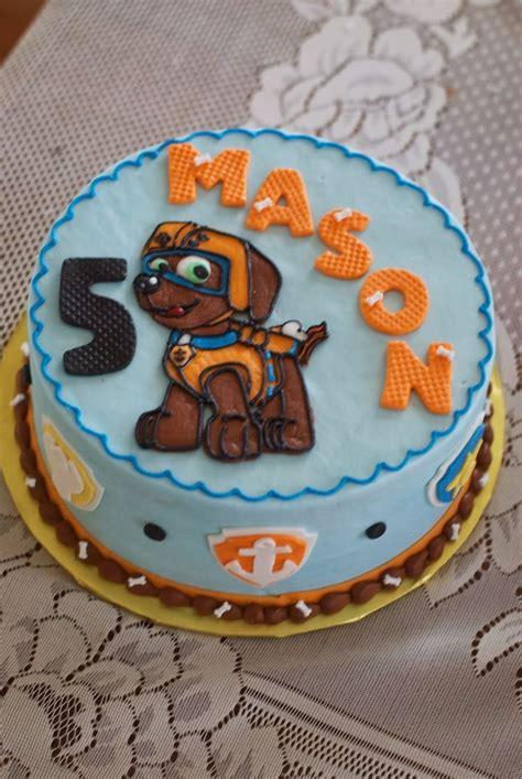 Cake If Rd With Mba by De 35 B 228 Sta Thema Paw Patrol Bilderna P 229