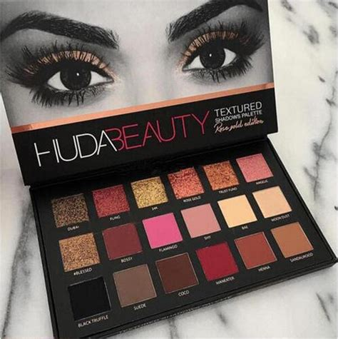 huda eyeshadow palette cosmetics eye shadow 2016new 18 color 100 genuine ebay