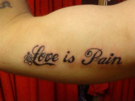 pain is love tattoo designs hd abstract design best design ideas