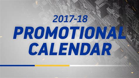 Golden State Warriors Giveaways - promotional schedule golden state warriors