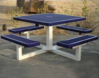 most durable finish for dining table best 25 metal picnic tables ideas on dinning