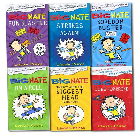 big nate book pictures big nate series collection lincoln peirce 6 books set big