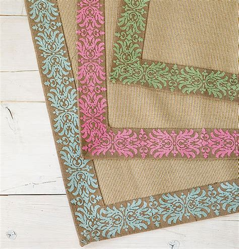 wisteria rugs of the day wisteria vine bordered jute rugs popsugar home