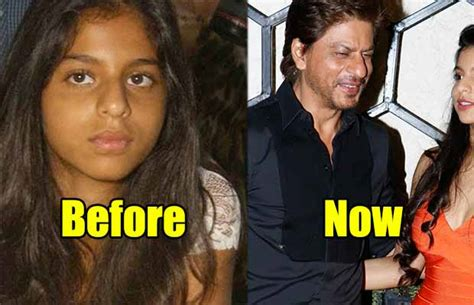 THEN AND NOW: Shah Rukh Khan's Daughter Suhana Khan Has ...