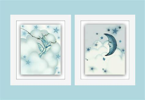 moon and nursery baby boy nursery boys by