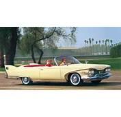 1960 Plymouth Fury Convertible Sunstar Platinum  DX Classic Vintage