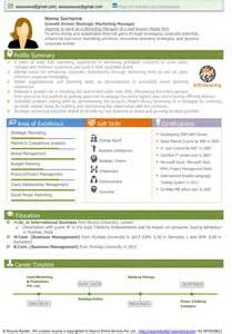 Visual Resume Exles by Free Resume Sles Free Cv Template Free Cv Sle Senior Executive Resume Sle