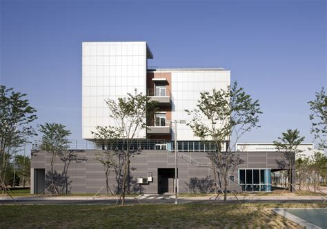 arch lab architects gallery of dongwha pharm laboratory junglim architecture 7