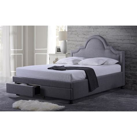 Gray Storage Bed by Brisbane Upholstered King Storage Bed In Gray Bbt6347