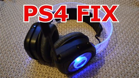 how works on ps4 afterglow headset can work on ps4