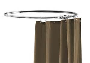 over bath shower curtain rail circular shower curtain rail 1000mm nickel