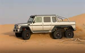 find mercedes unveils awesome g63 amg 6x6