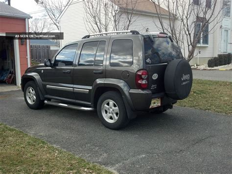 diesel jeep liberty 2006 jeep liberty crd limited 4x4 turbo diesel fully loaded