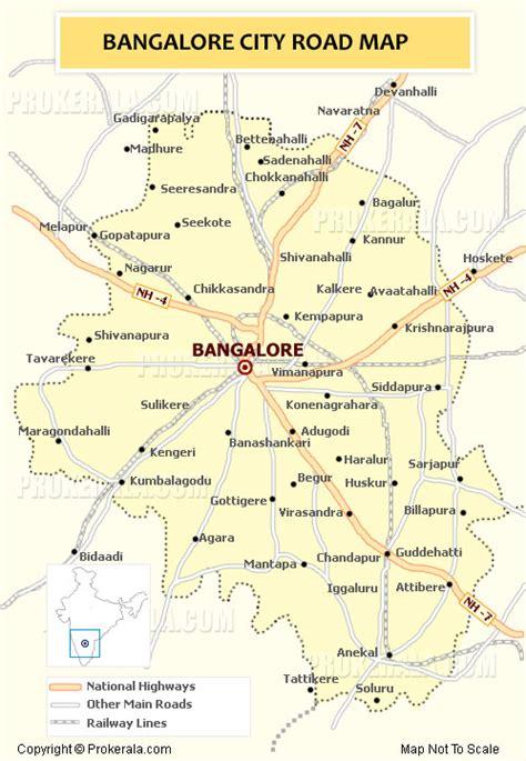 bangalore city map images bangalore map