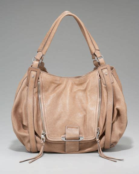 Neiman Sale Continues With Goods From Marc Kooba Tracy 2 by Kooba Jonnie Zip Tote In Beige Lyst