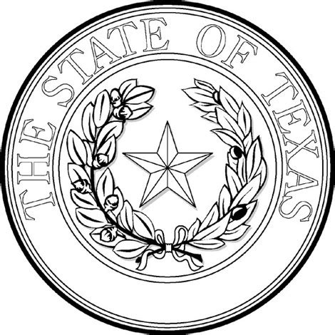 Galerry lone star coloring page