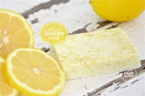 Handmade Lemon Soap - 20 diy soap tutorials handmade gift ideas