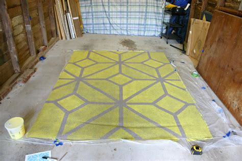 how to paint an outdoor rug how to paint an outdoor rug how to stencil paint an